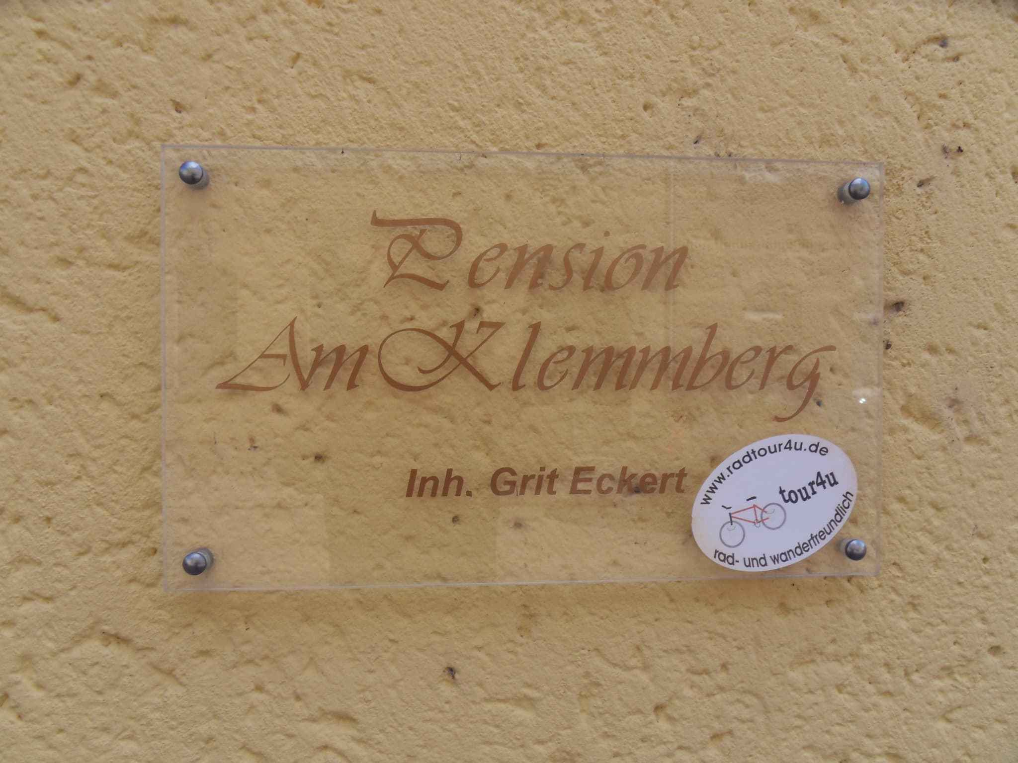 Pension am Klemmberg die Pension